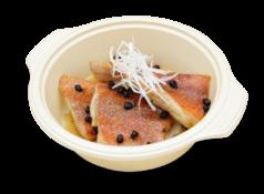 赤魚の豆ち蒸し煮
