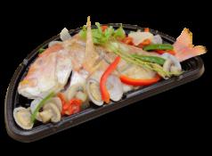 連子鯛のアクアパッツァ
